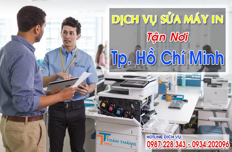 Công Ty Dịch Vụ Sửa Máy In Tận Nơi TPHCM Tại Nhà Nhanh Uy Tín