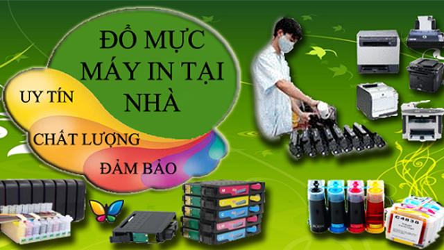 Dịch Vụ Nạp Thay Mực Máy In Quận Tân Bình Tận Nơi  Nhanh