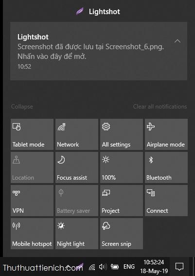 Làm quen với những phím tắt nhanh mới trên Windows 10 tốt hơn