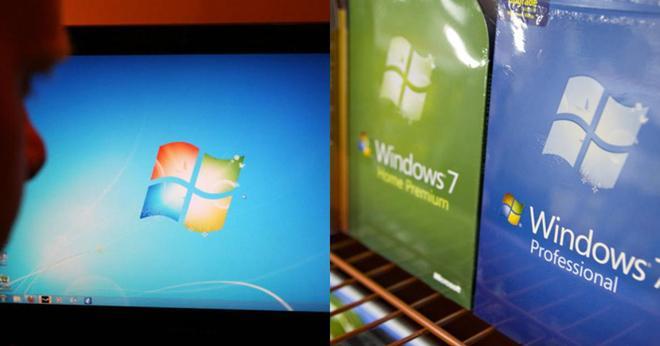 Microsoft vội vã cập nhật Windows 7 sau khi tuyên bố khai tử