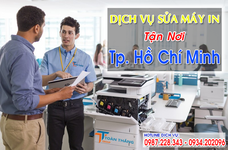 Nạp Mực Máy In Huyện Hóc Môn TPHCM Nhanh Giá Rẻ