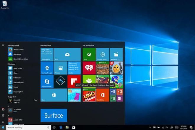 Thị phần của Windows 10 chính thức vượt qua Windows 7